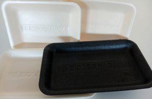 Bodegón bandejas biodegradables
